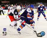 New York Islanders,New York Rangers Thomas Vanek & Dan Girardi 2014 NHL Stadium Series Action Photo