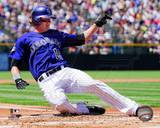 Colorado Rockies Charlie Blackmon 2013 Action Photo