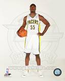 Indiana Pacers Roy Hibbert 2013-14 Posed Photo