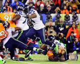 Marshawn Lynch Super Bowl XLVIII Action Photo