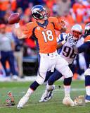Peyton Manning 2013 AFC Championship Game Action Photo