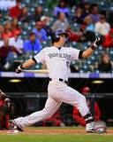 MLB Colorado Rockies Corey Dickerson 2013 Action Photo