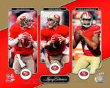 Joe Montana, Steve Young, & Colin Kaepernick Legacy Collection Photo