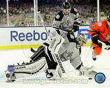Jonathan Quick 2014 NHL Stadium Series Action Photo