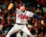 Tom Glavine 1999 World Series Action Photo
