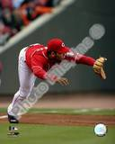 Edwin Encarnacion - 2007 Fielding Action Photo