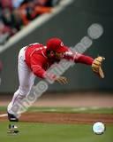 Edwin Encarnacion - 2007 Fielding Action Photo