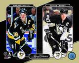 Mario Lemieux & Sidney Crosby Legacy Collection Photo