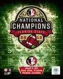 Florida State Seminoles 2014 BCS National Champions Team Logo Photo