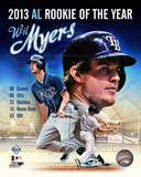 Wil Myers 2013 American League Rookie of the Year Portrait Plus Photo