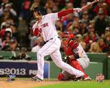 Xander Bogaerts Game 1 of the 2013 World Series Action Photo