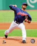 Cleveland Indians Danny Salazar 2013 Action Photo