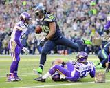 Marshawn Lynch 2013 Action Photo