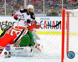 Mats Zuccarello Goal 2014 NHL Stadium Series Photo