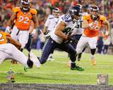 Doug Baldwin Touchdown Super Bowl XLVIII Action Photo