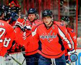 Washington Capitals Alex Ovechkin 2013-14 Action Photo