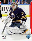Ryan Miller 2013-14 Action Photo