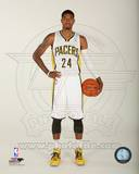 Indiana Pacers Paul George 2013-14 Posed Photo