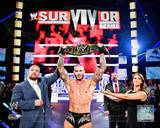 Randy Orton with the WWE Championship Belt 2013 Survivor Series Photo