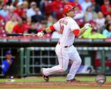 Devin Mesoraco 2013 Action Photo