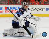 Winnepeg Jets Ondrej Pavelec 2013-14 Action Photo