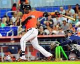 Marcell Ozuna 2013 Action Photo