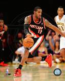 Portland Trail Blazers LaMarcus Aldridge 2013-14 Action Photo
