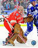 Jimmy Howard 2014 NHL Winter Classic Action Photo