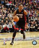Miami Heat Mario Chalmers 2013-14 Action Photo