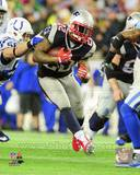 Stevan Ridley 2013 Playoff Action Photo