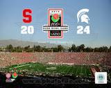 Michigan State Spartans 2014 Rose Bowl Champions Michigan State Spartans Vs. Stanford Cardinals Photo