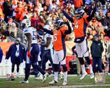 Matt Prater kicks a 64-yard Field Goal, the longest in NFL History December 8, 2013 Photo