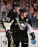 Sidney Crosby & Evgeni Malkin 2013-14 Action Photo