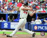 Evan Gattis 2013 Action Photo