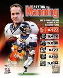 Peyton Manning Single Season Passing Yards Record Photo