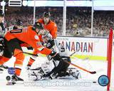 Corey Perry Goal 2014 NHL Stadium Series Photo