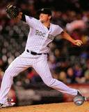 Colorado Rockies Rex Brothers 2013 Action Photo