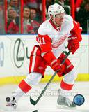 Detroit Red Wings Daniel Alfredsson 2013-14 Action Photo