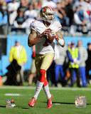 Colin Kaepernick 2013 Playoff Action Photo