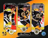 Bobby Orr, Ray Bourque, & Zdeno Chara Legacy Collection Photo