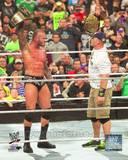 Randy Orton & John Cena 2013 Survivor Series Action Photo