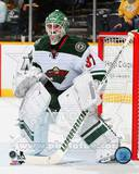Minnesota Wild Josh Harding 2013-14 Action Photo