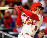 Kolten Wong Game 3 of the 2013 World Series Action Photo