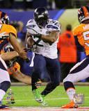 Marshawn Lynch Super Bowl XLVIII Action Photo