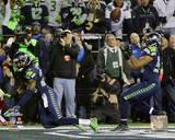 Malcolm Smith & Richard Sherman Game Winning Interception 2013 NFC Championship Game Photo