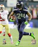 Marshawn Lynch Touchdown Run 2013 NFC Championship Game Photo