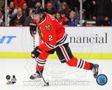 Duncan Keith 2013-14 Action Photo