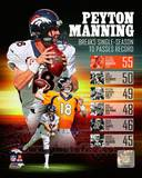 Peyton Manning Single Season TD Record Photo