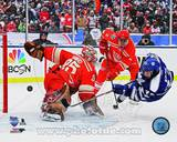 Jimmy Howard & Nazem Kadri 2014 NHL Winter Classic Action Photo