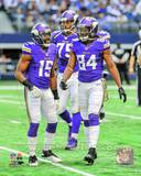 Greg Jennings & Cordarrelle Patterson 2013 Action Photo